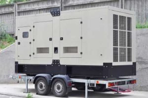 Generator on the road
